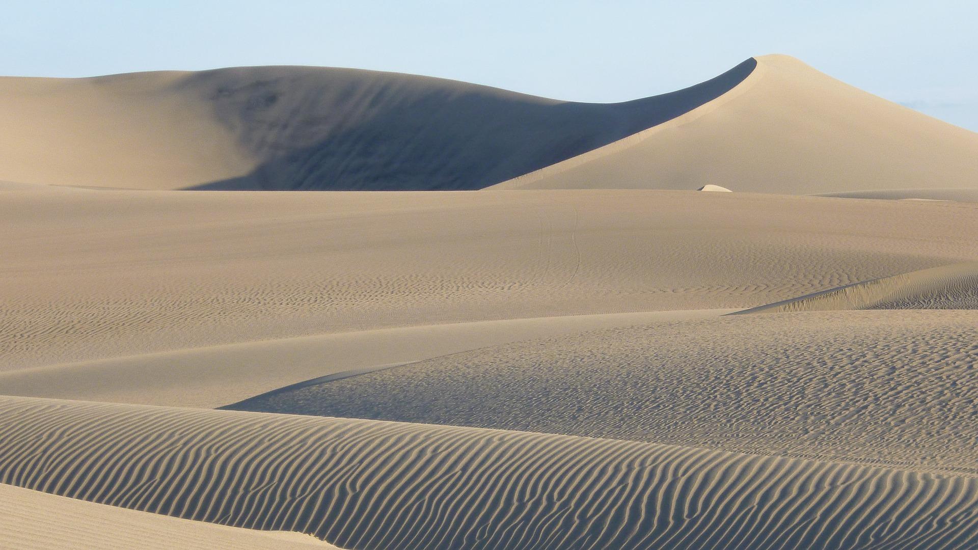 dunes sable désert