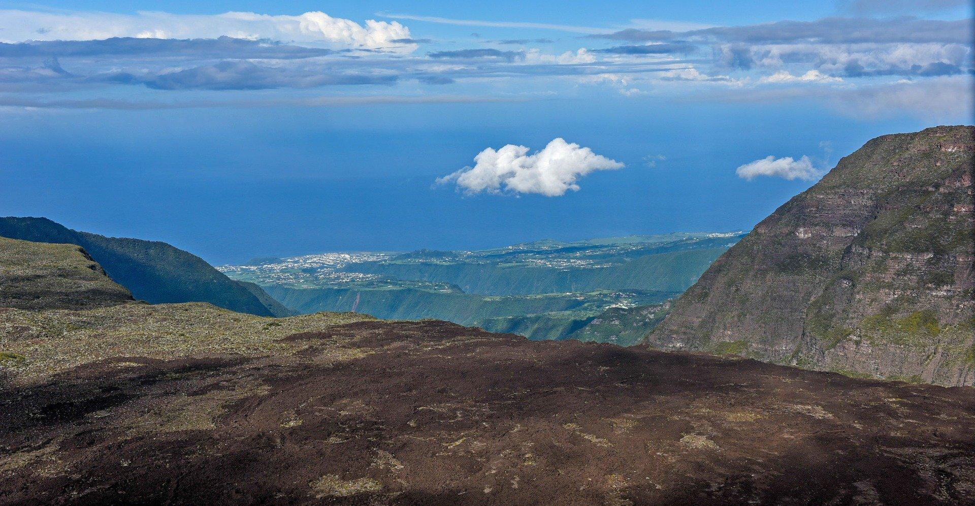 île de la réunion montagne vallée